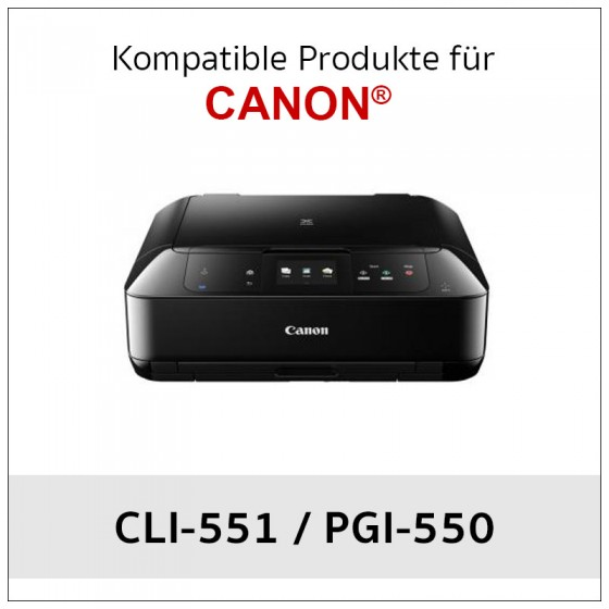 Ink for Canon ®  CLI-551 /...