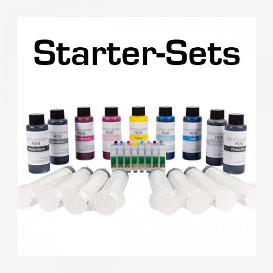 Startersets for Epson ®  Photo...