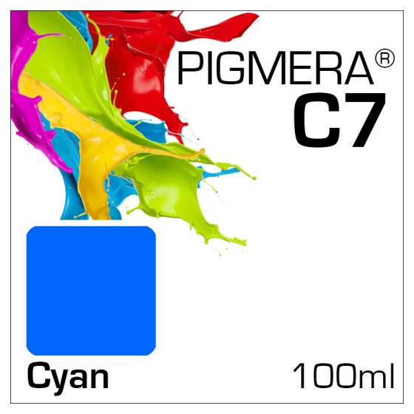 Pigmera C7 Bottle 100ml Cyan