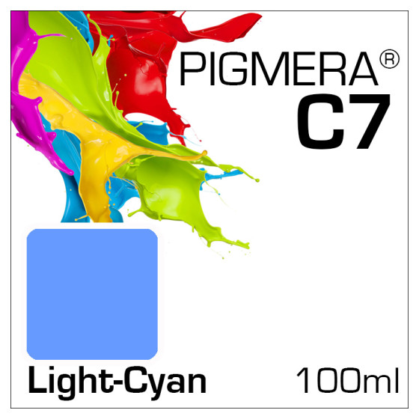 Pigmera C7 Bottle 100ml Light-Cyan