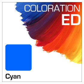 Coloration ED Flasche 100ml Cyan