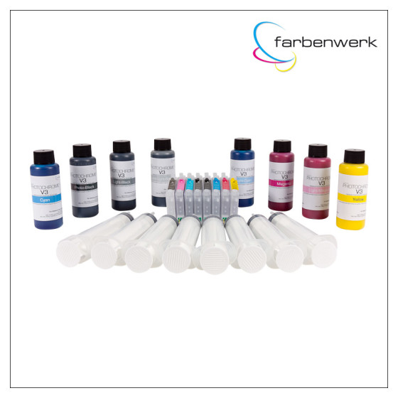 Starter-Set Photochrome V3 100ml R2400 PK & MK