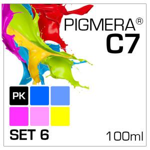 Pigmera C7 im 6-Flaschen-Set 100ml mit PK
