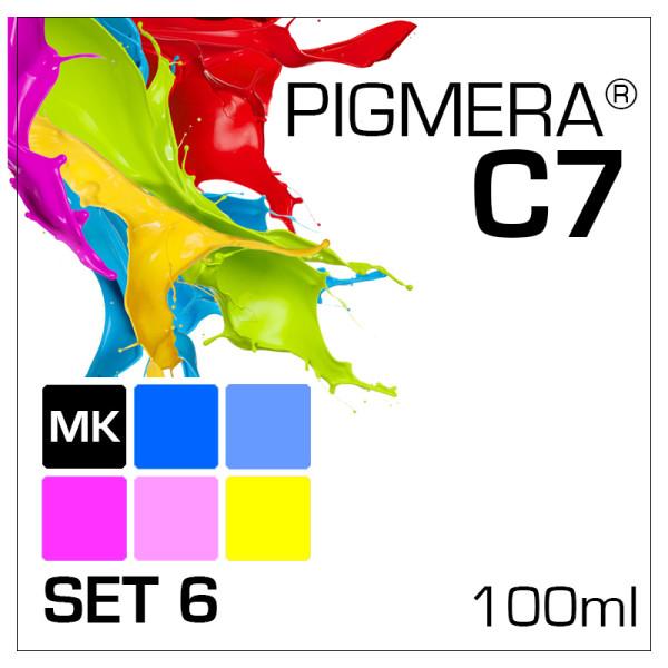 Pigmera C7 im 6-Flaschen-Set 100ml mit MK
