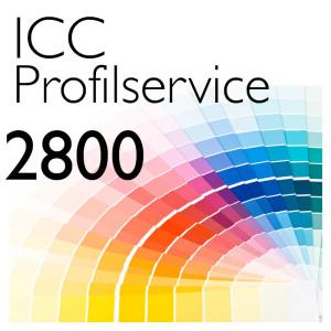 ICC Drucker-Profilerstellung 2800