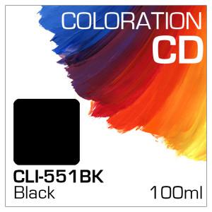 Coloration CD Flasche 100ml CLI-551BK Black (Dye)