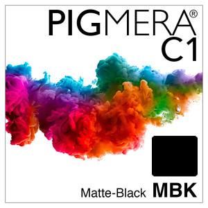 farbenwerk Pigmera C1 Flasche Matte-Black