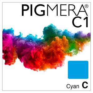 farbenwerk Pigmera C1 Flasche Cyan