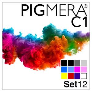farbenwerk Pigmera C1 12-Flaschen-Set