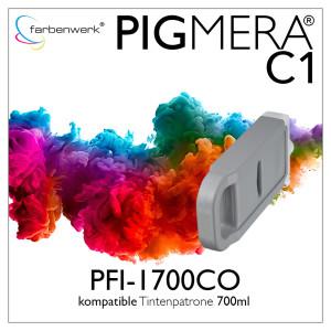 Wiederaufbereitete Tintenpatrone 700ml Pigmera C1...