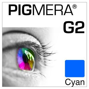 farbenwerk Pigmera G2 Flasche Cyan
