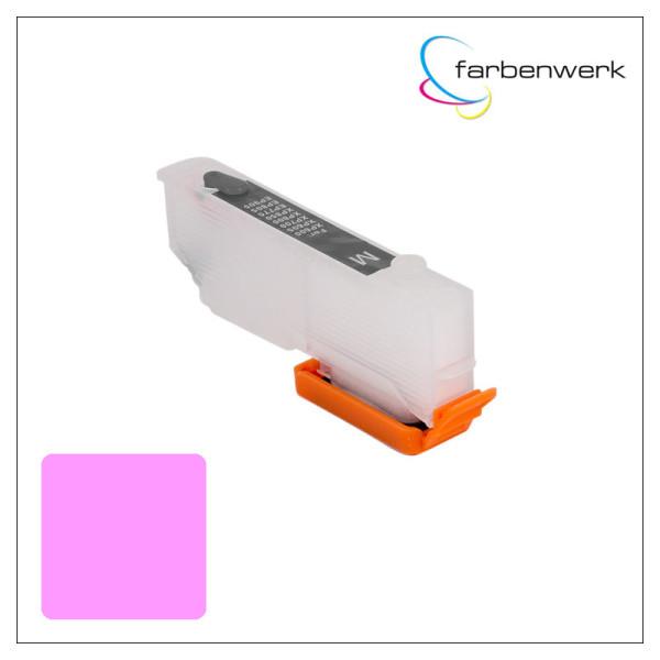 Nachfüllpatrone mit Autoreset Chip T2436 Light-Magenta