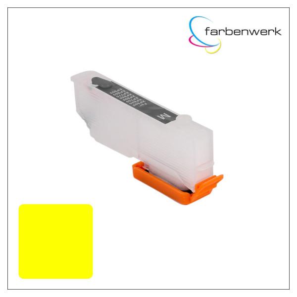RCS Refillable Cartridge T2434 ARC Yellow