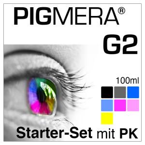 Starter-Set Pigmera G2 für 2100 mit Photo-Black