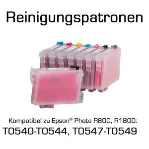 Reinigungspatronen für Epson Photo R800...