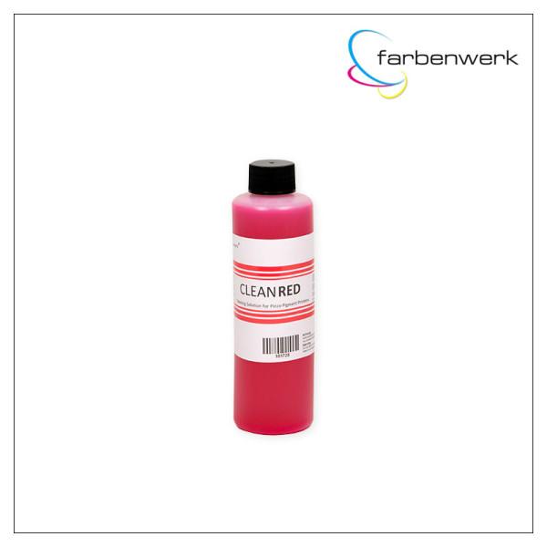 Spülflüssigkeit CLEAN:RED für Tintenstrahl Drucker 250ml