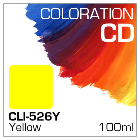 Coloration CD Flasche 100ml CLI-526Y Yellow