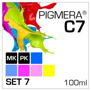 Pigmera C7 im 7-Flaschen-Set 100ml mit PK & MK