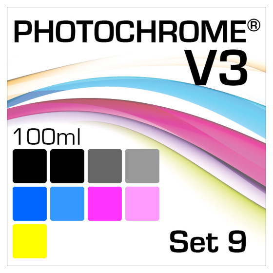 Lyson Photochrome V3 9-Flaschen Set 100ml
