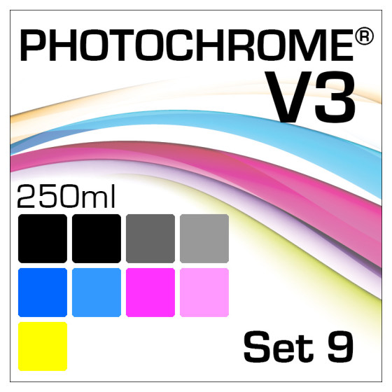 Lyson Photochrome V3 9-Flaschen Set 250ml