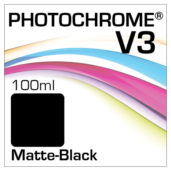 Lyson Photochrome V3 Tinte Flasche 100ml Matte-Black