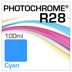Lyson Photochrome R28 Tinte Flasche Cyan 100ml