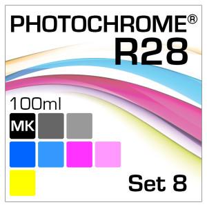 Lyson Photochrome R28 8-Bottle Set Matte-Black 100ml