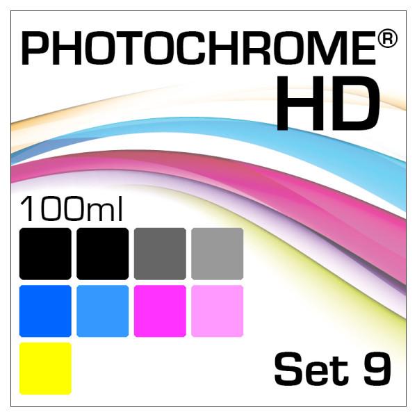 Lyson Photochrome HD 9-Bottle Set 100ml