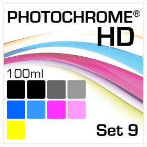 Lyson Photochrome HD 9-Flaschen Set 100ml