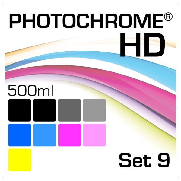 Lyson Photochrome HD 9-Bottle Set 500ml