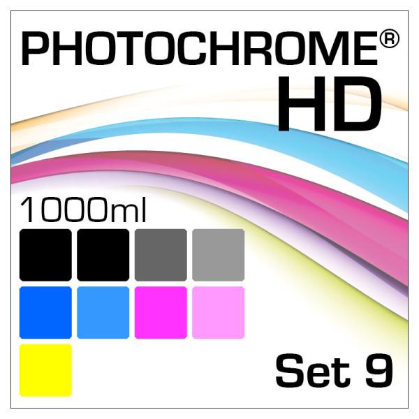 Lyson Photochrome HD 9-Bottle Set 1000ml