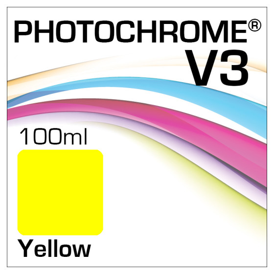 Lyson Photochrome V3 Tinte Flasche 100ml Yellow