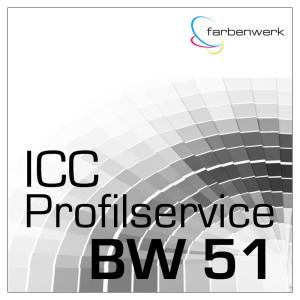 ICC Profilerstellung 51 für Carbonprint / Carbotone