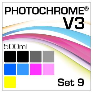 Photochrome V3 9-Flaschen Set 500ml