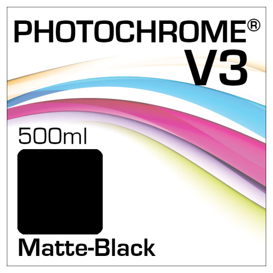Photochrome V3 Tinte Flasche 500ml Matte-Black
