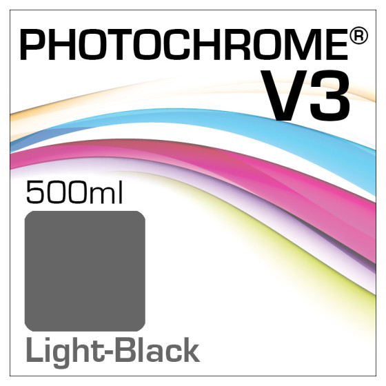 Photochrome V3 Tinte Flasche 500ml Light-Black