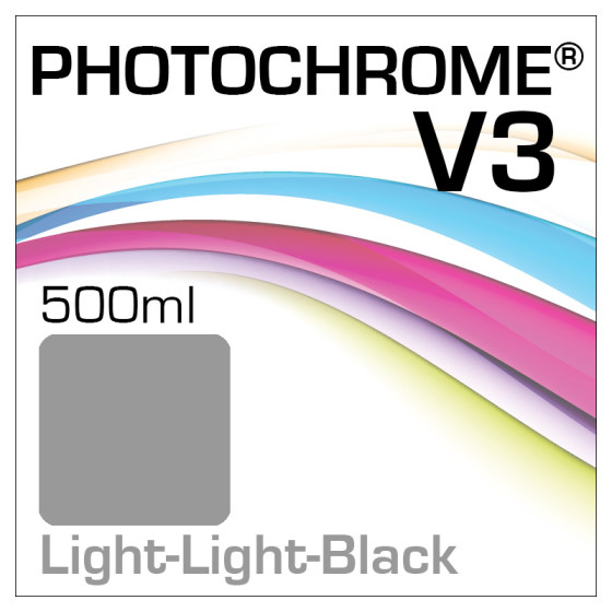 Photochrome V3 Tinte Flasche 500ml Light-Light-Black