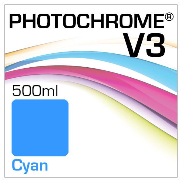 Photochrome V3 Bottle 500ml Cyan
