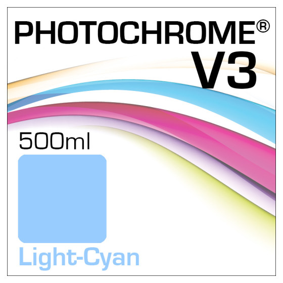 Photochrome V3 Tinte Flasche 500ml Light-Cyan