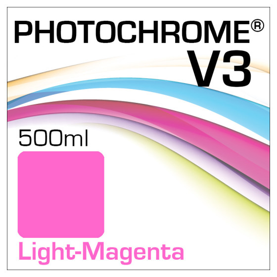 Photochrome V3 Tinte Flasche 500ml Light-Magenta
