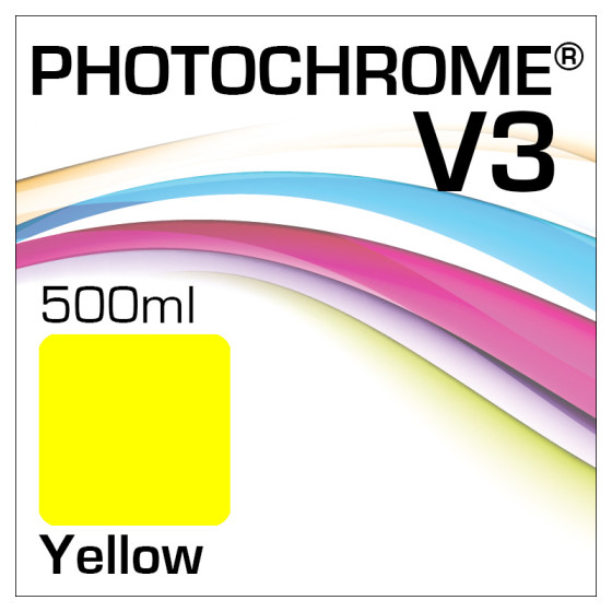 Photochrome V3 Tinte Flasche 500ml Yellow