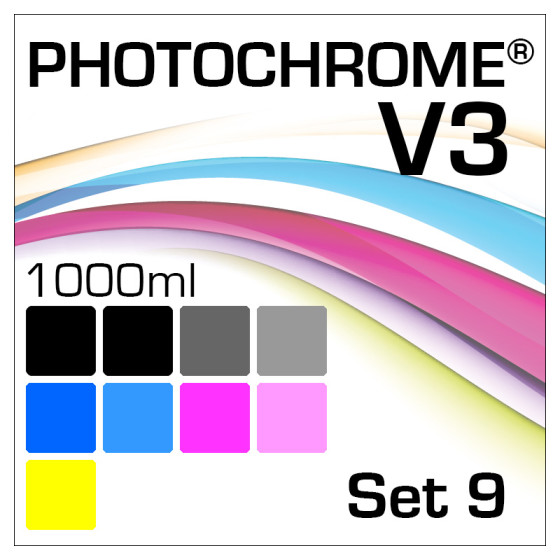 Photochrome V3 9-Flaschen Set 1000ml