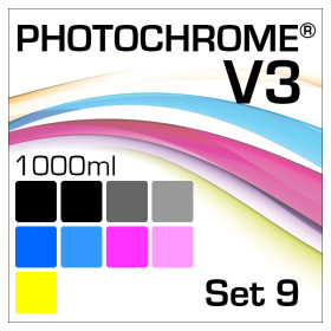 Photochrome V3 9-Bottle Set 1000ml