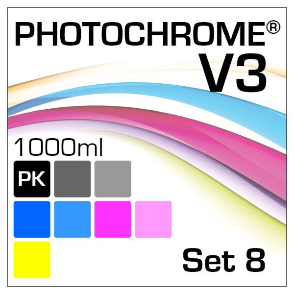 PhotoChrome V3 8-Bottle Set 1000ml Photo-Black