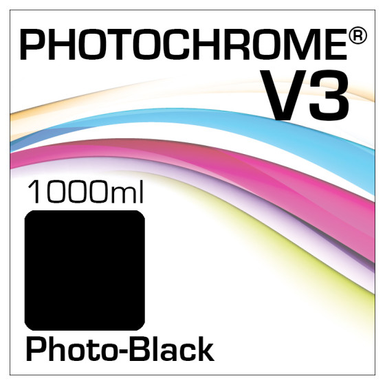 Photochrome V3 Tinte Flasche 1000ml Photo-Black