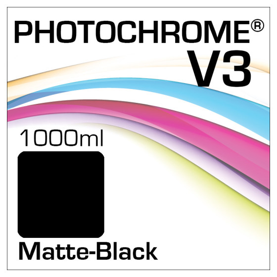Photochrome V3 Tinte Flasche 1000ml Matte-Black