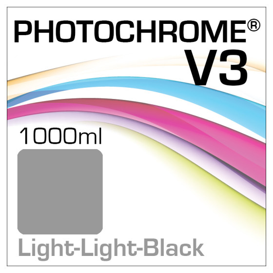 Photochrome V3 Tinte Flasche 1000ml Light-Light-Black