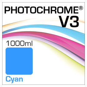 Photochrome V3 Bottle 1000ml Cyan