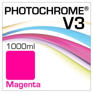 Photochrome V3 Tinte Flasche 1000ml Magenta