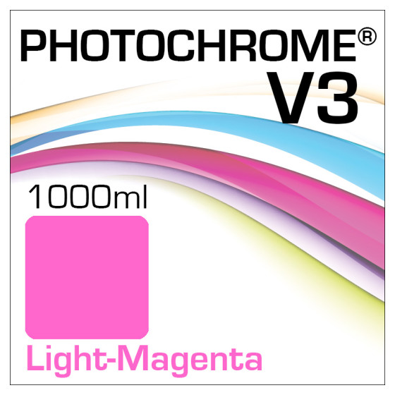 Photochrome V3 Tinte Flasche 1000ml Light-Magenta